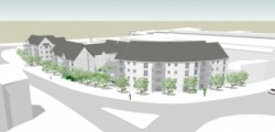 Indicative image of the proposed McCarthy & Stone retirement housing development at Savages Wood Road, Bradley Stoke, Bristol.