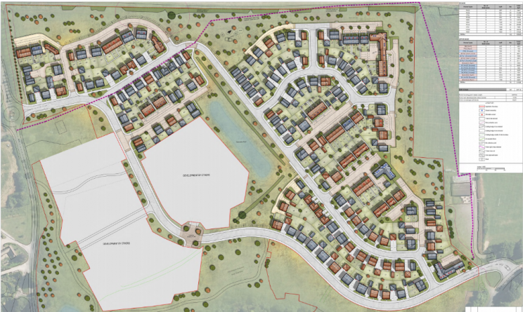 taylor wimpey brockworth site map