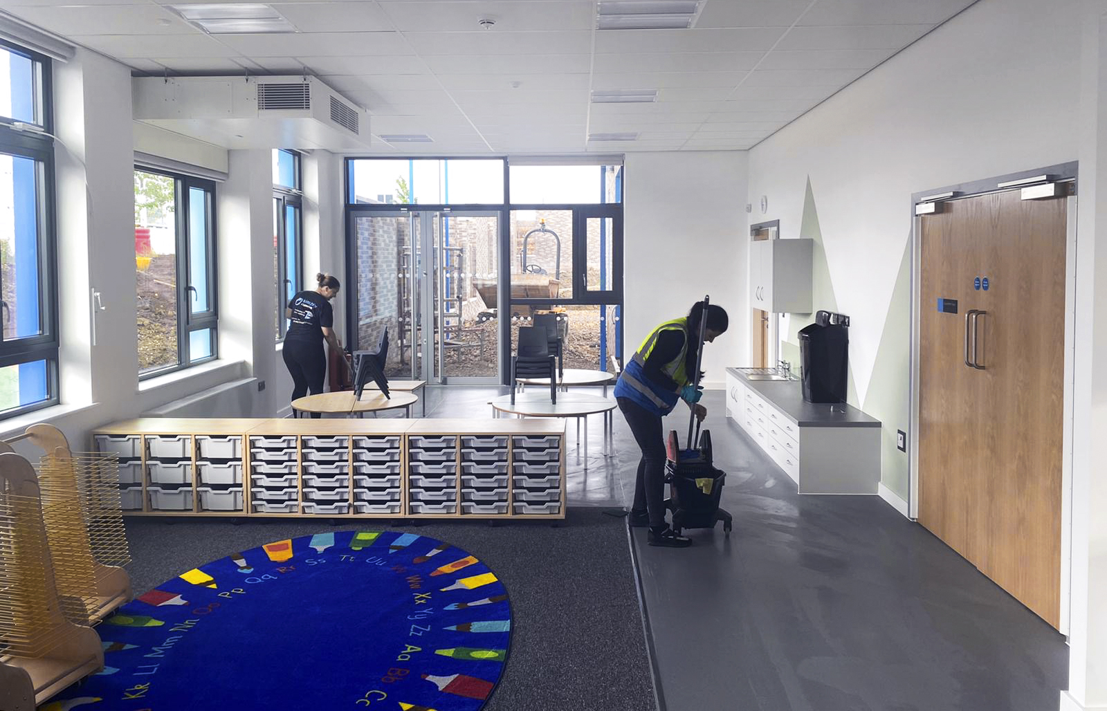 construction cleaning swindon