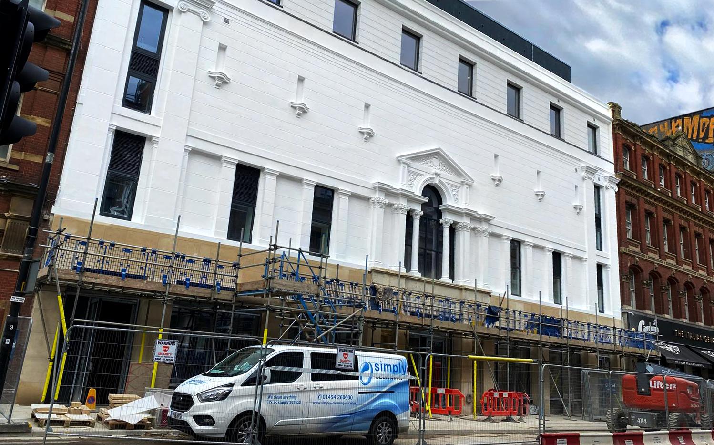 beard construction Bristol city centre