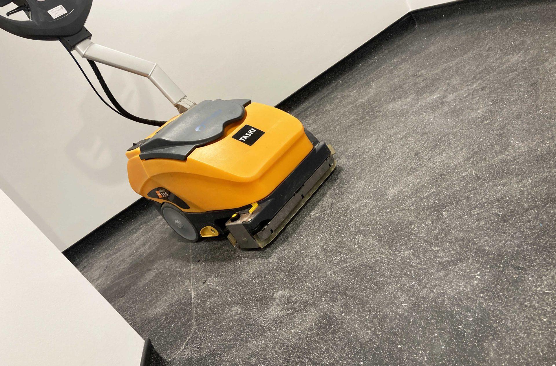 taski floor scrubbing machine