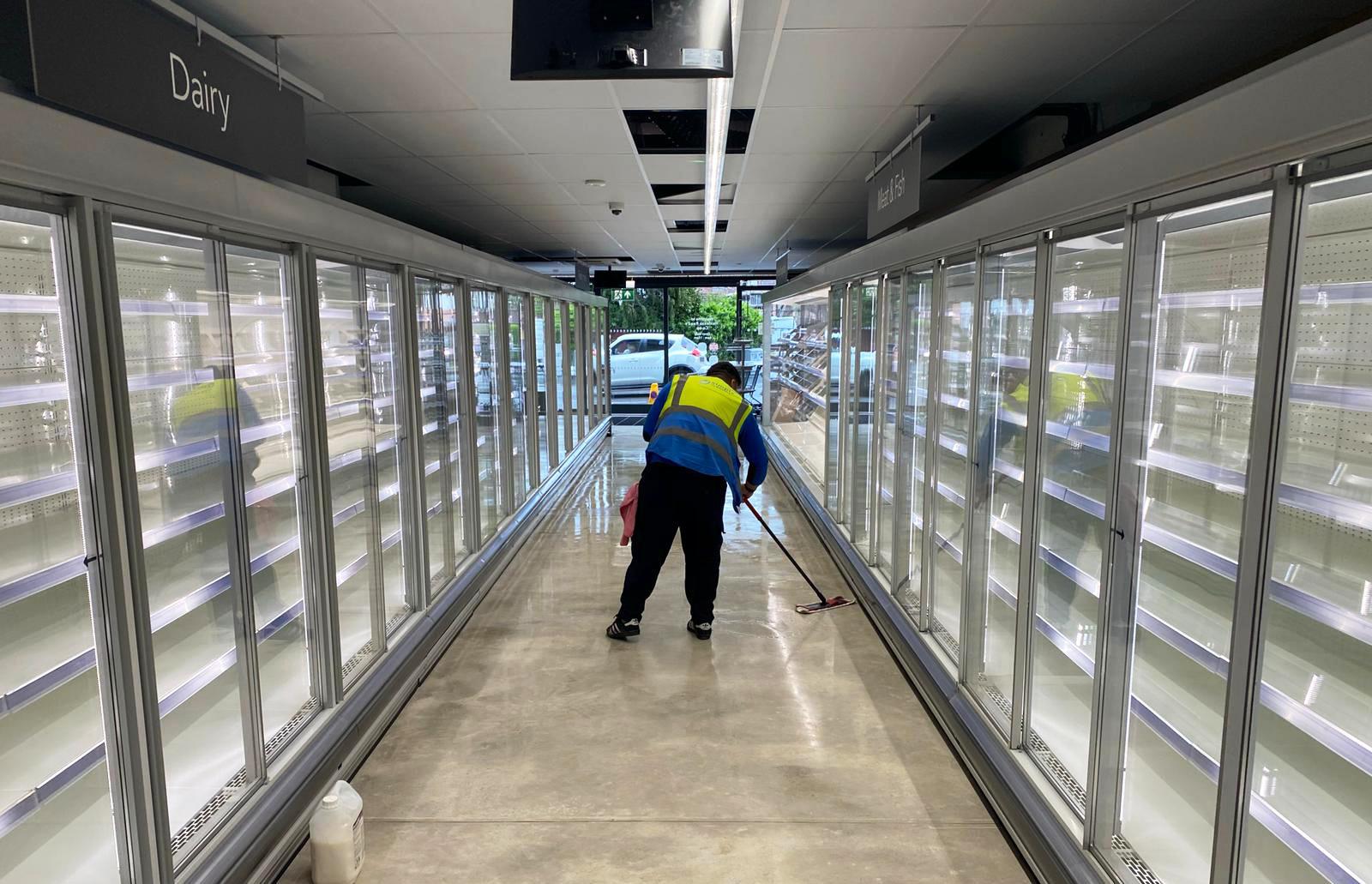 hard floor concrete polishing services